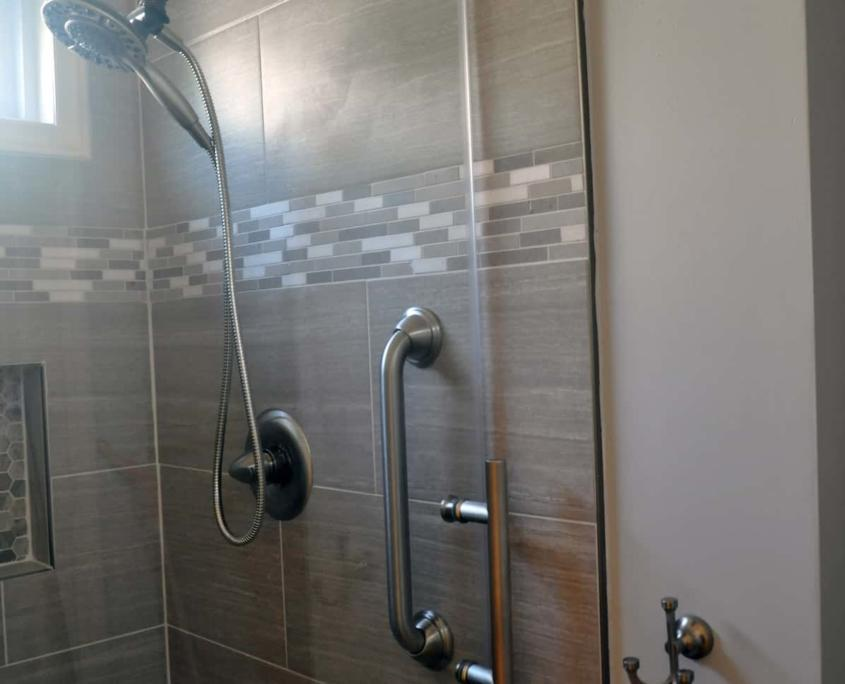 bathroom remodel tile walk in shower mount airy nc