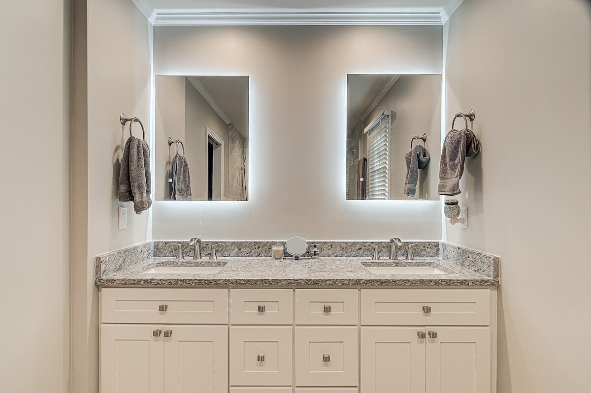 backlit bathroom mirror vanity winston salem nc